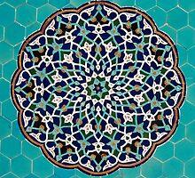 Persian Blue Mosaic by Haggiswonderdog