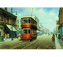Stockport tram. Photographic Print