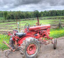 Vintage Tractor by John-Paul Fillion
