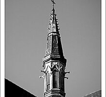 St Mary Star of the Sea Spire by claireh