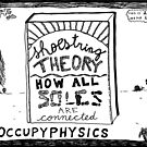 Shoe string theory book title cartoon by bubbleicious