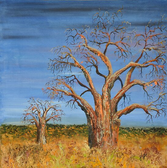 Beautiful Baobabs by Gigi Guimbeau