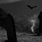 The night before halloween on Tipperary Hills by Gregoria  Gregoriou Crowe