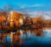 Church - Clinton, NJ - Clinton United Methodist Church by Mike  Savad