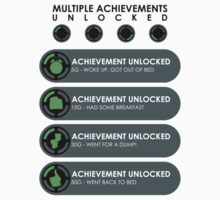 Multiple Achievements Unlocked by Adam Angold