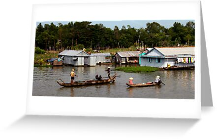 A Floating Community - Viet Nam by Jordan Miscamble