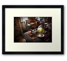 Science - Chemist - Scientific Discoveries  Framed Print