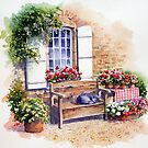 Sunny snooze by Ann Mortimer