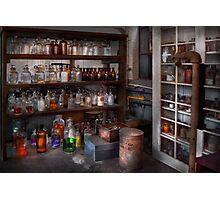 Science - Chemist - The secret of life Photographic Print
