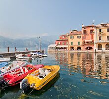 harbour - malcesine by mortonboy