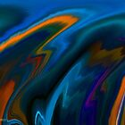 Abstract Digital Paintings by linmarie by linmarie