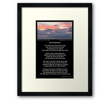 ~ Solar Performance ~ A collaboration with Tim O Driver Framed Print