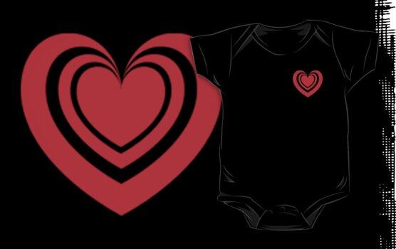 Radiant Heart by Kingofgraphics