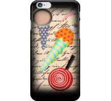 Ice cream typography iphone case iPhone Case/Skin