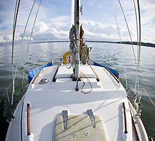 We are (motor) Sailing by Chris Cardwell
