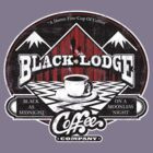 Black Lodge Coffee Company (distressed) by Mephias