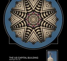 THE CAPITAL BUILDING, WASHINGTON DC by PhotoIMAGINED