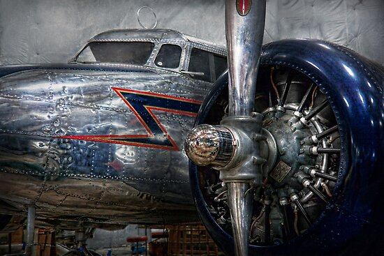 Transportation - Plane - Hey fly boy  by Mike  Savad
