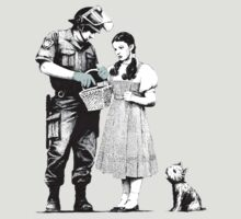 "Banksy ""Stop and Search"" by stabilitees"