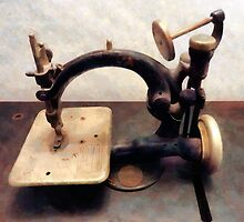 Victorian Sewing Machine by Susan Savad