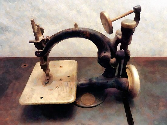 Victorian Sewing Machine by Susan Savad