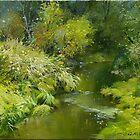 Ancaster Creek. by Guennadi Kalinine