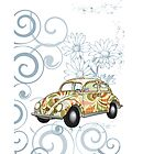 Slug Bug iPhone case by olivehue