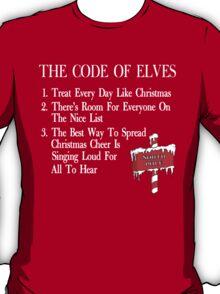 The Code of Elves White T-Shirt