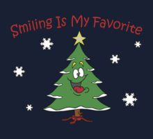 Smiling is My Favorite Tree by waywardtees