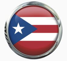 Puerto Rico Flag by 3Dflags