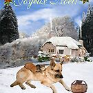 French German Shepherd Holiday by Eric Kempson