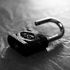 a vintage padlock by andre joceline