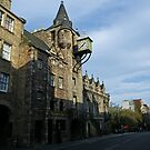 The Canongate Tolbooth, Edinburgh, Royal Mile by Dawn (Paris) Gillies