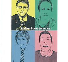 Inbetweeners Character Artwork by chrisjh2210