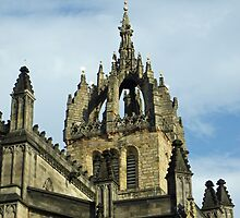 St Gile's Cathedral Crown Spire, Edinburgh by Dawn (Paris) Gillies