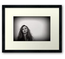 Teenager Framed Print