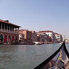 Venice Gondola View by Namdres