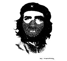 Che Hannibal Street Art Photographic Print