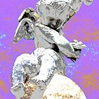Kansas City Cherub by angelandspot