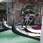 Venice Gondolas by Namdres