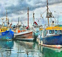 The Fleet - watercolour by PhotosByHealy