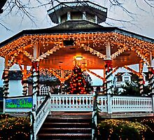 CapeMay Holiday Gazebo by djphoto