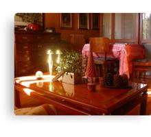 Un raggio di sole...un ramo di vischio...un tavolino. 2500 visualizzaz a gennaio 2013...FEATURED RB EXPLORE 1 NOVEMBRE 2011... Canvas Print