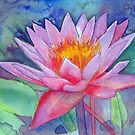 Waterlily 2 by Karin Zeller