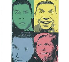 Lee Evans Pop Art Image by chrisjh2210