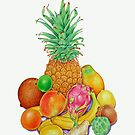 Hawaiian Tropical Fruit by joeyartist