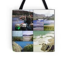 Highlands and Islands - A Scottish Collage Tote Bag
