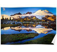 Mount Baker Sunset Poster