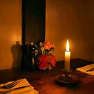 Dinner by Candlelight by Barbara  Brown
