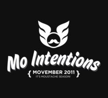 MOVEMBER: Mo Intentions  by EzyLee